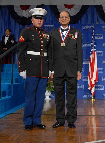 ASR President and CEO Rao Anumolu Receives Ellis Island Medal of Honor