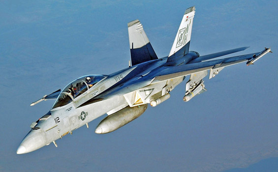 ASR Aircraft Platform Support: F/A-18 E/F